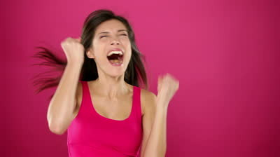 stock-footage-excited-winner-woman-celebrating-win