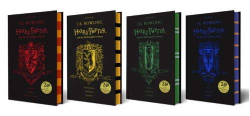 House editions of Philosopher's Stone - all four h