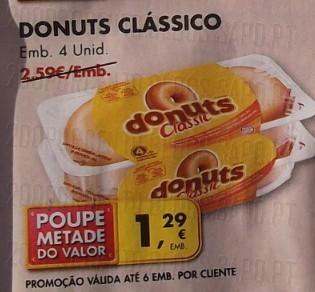 Acumulação 50% + Vale   PINGO DOCE   Donuts