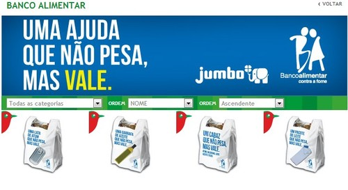 Novo Folheto | JUMBO / BANCO ALIMENTAR |