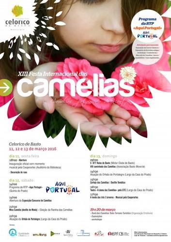 PROGRAMA - XIII Festa internacional das Camélias