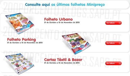 Novos Folhetos | MINI PREÇO | de 31 outubro a 13 novembro