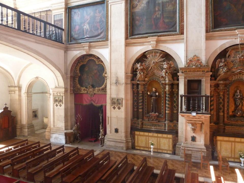 Igreja de Santa Justa, interior pormenor.JPG
