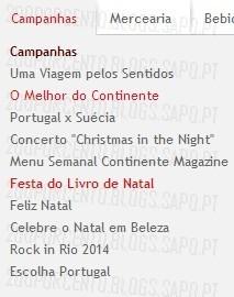 Novas Promoções | CONTINENTE | Festa do Livro de Natal