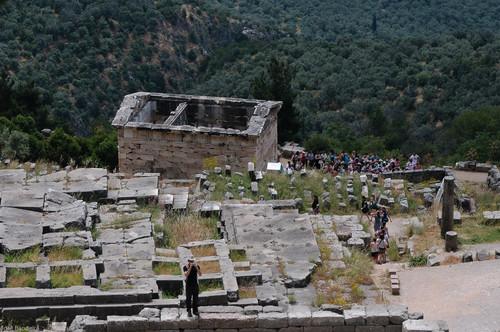 Tesouro dos Atenienses, Delfos, Grécia