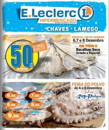 Antevisão Folheto   E-LECLERC   Chaves e Lamego