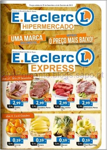 Folheto E-Leclerc Chaves de