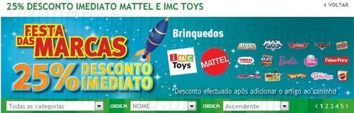 Antevisão 25% Brinquedos   JUMBO   Mattel e IMC Toys, de 4 a 11 Novembro