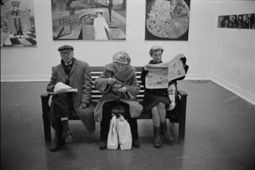 Paul Trevor London Whitechapel Art Gallery 1976.jp