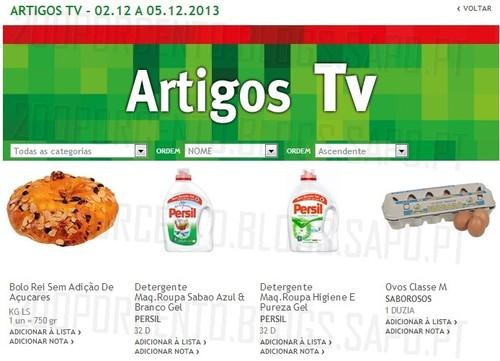 Artigos TV   JUMBO   de 2 a 5 dezembro