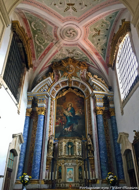 Mosteiro de Celas, igreja. Foto Vítor Oliveira.jp