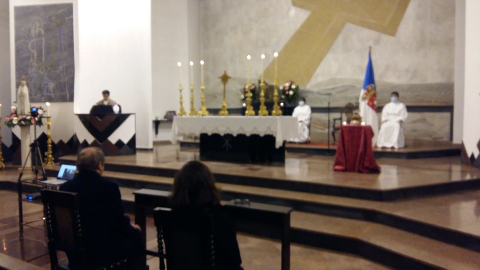 Homilia da Missa de Sufrágio regicídio 2021