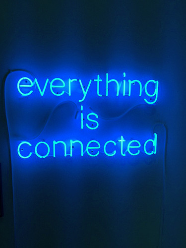 Peter Liversidge, everythijng is connected, 2015.j