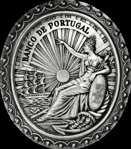 Fig. 12 - Selo do Banco de Portugal. 1846. Desenho