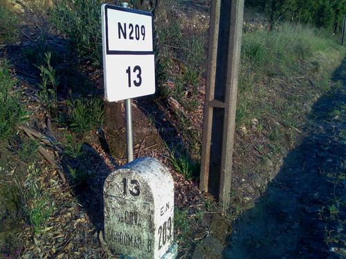 EN 209 - km 13. E.N. 209, km 13 (José A.A. Pereira, 2012)