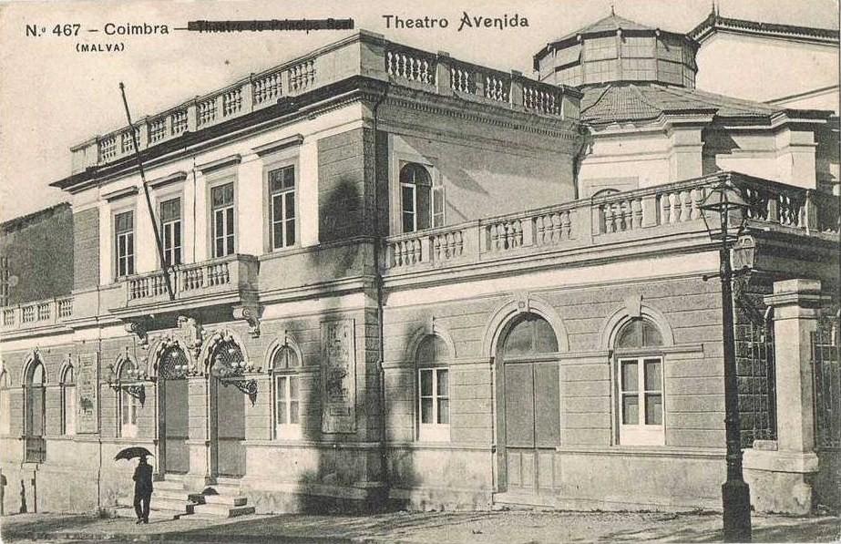 Fig. 37. Theatro-Circo (Teatro Avenida) [Bilhete P
