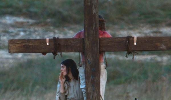 Rooney Mara As Mary Magdalene Smoking A Cigarette