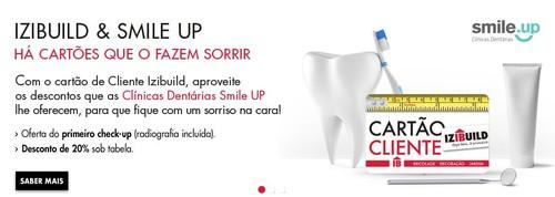 Cartão cliente | IZIBUILD | Oferta de check-up dentário