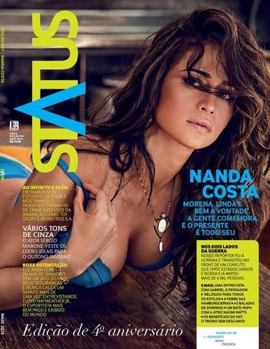 Nanda Costa capa