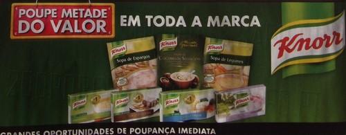 Acumulação 50% + Vale   PINGO DOCE   Knorr, de 3 a 9 dezembro