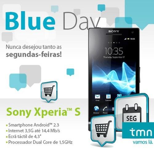 Blue Day | TMN | dia 16 dezembro, Hoje
