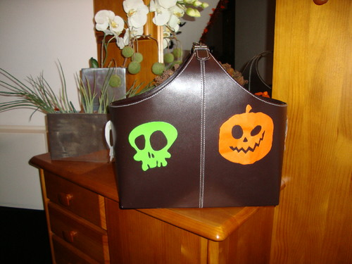 Cesto de Halloween