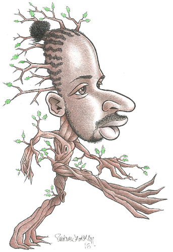 Treebeard Ehder, o Ent da Floresta de Fangorn