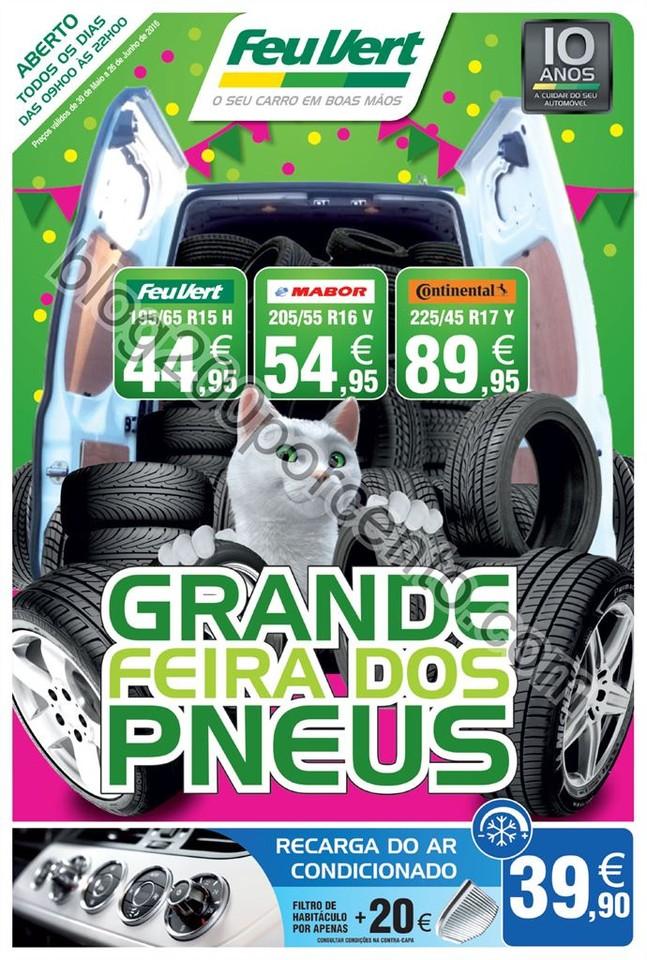 Antevisão Folheto FEU VERT Promoções de 30 maio