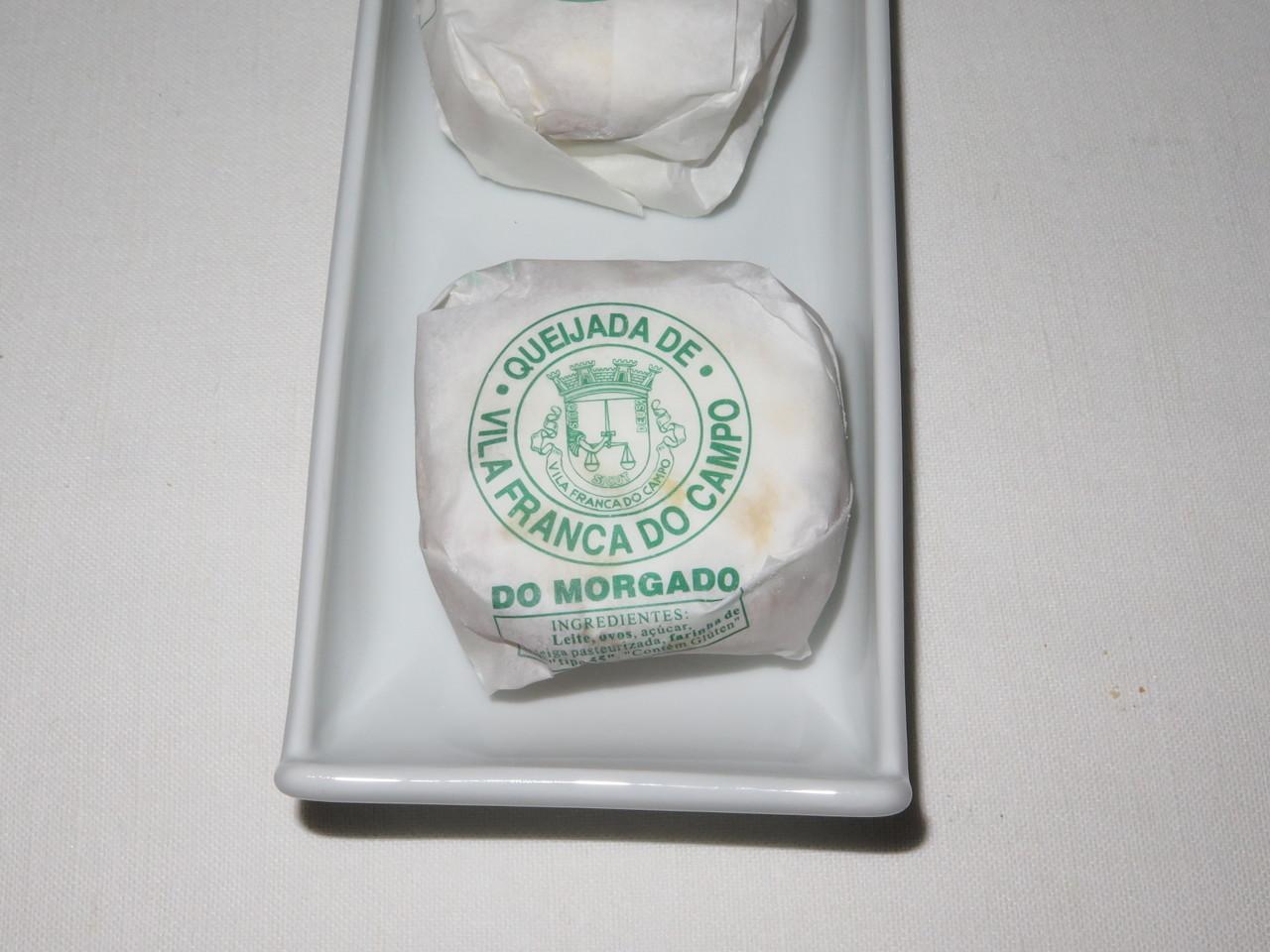 Queijada de Vila Franca do Campo