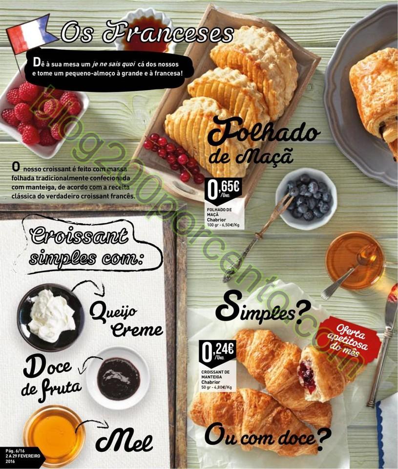Antevisão Folheto INTERMARCHÉ Padaria de 2 a 29