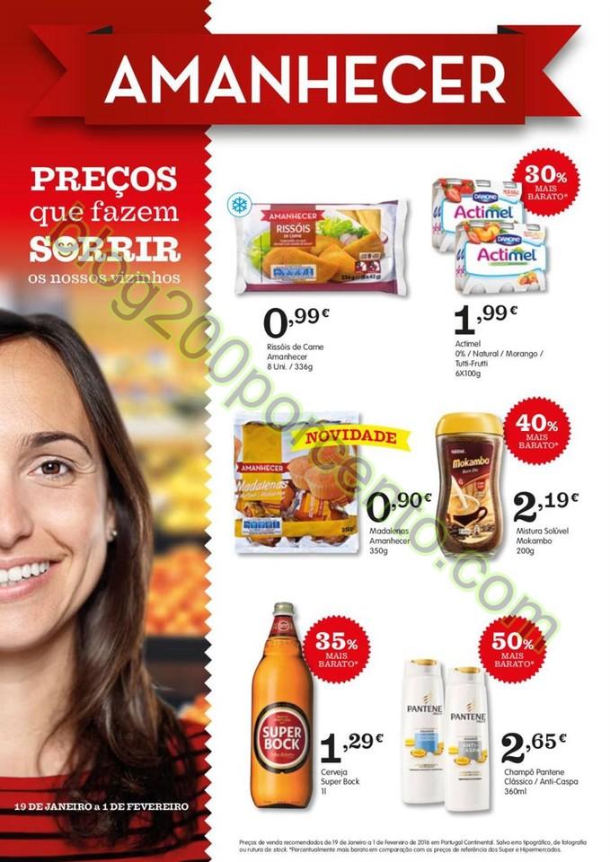 Novo Folheto AMANHECER Promoções de 19 janeiro a