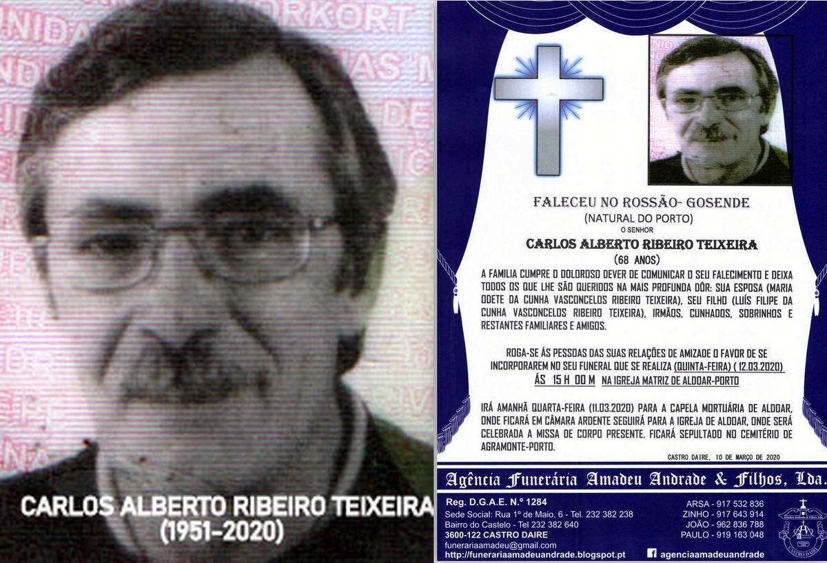 FOTO RIP  DE CARLOS ALBERTO DUARTE RIBEIRO - 68 AN