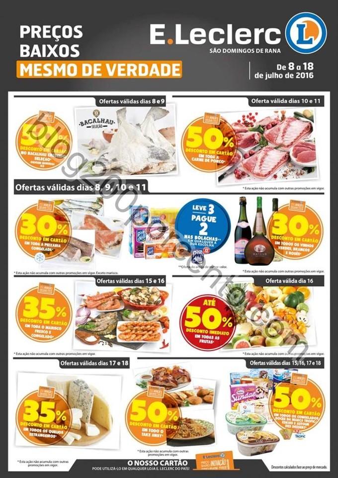 Novo Folheto E-LECLERC S Domingos Rana promoções