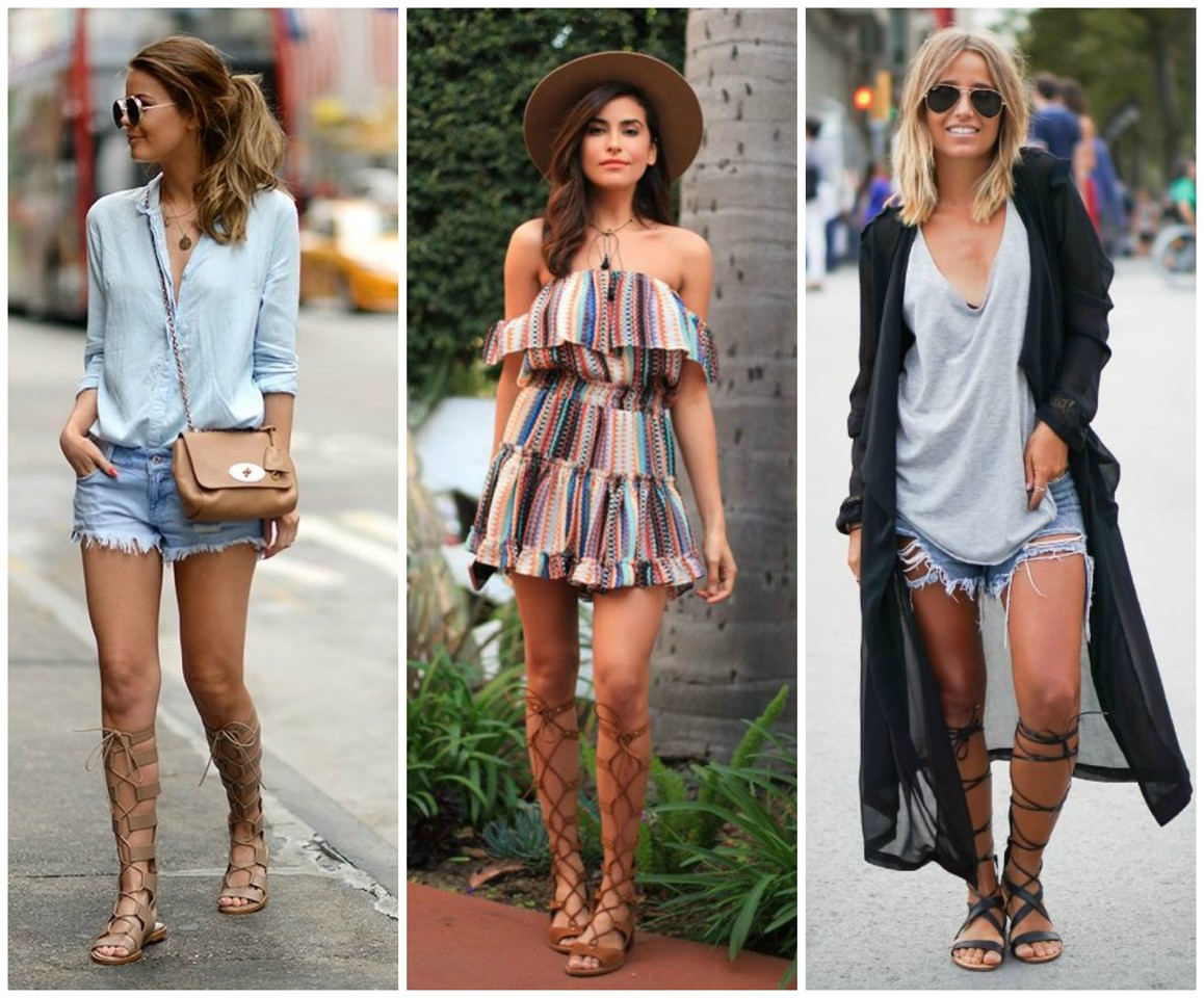 Street Style: Sandálias Gladiadoras