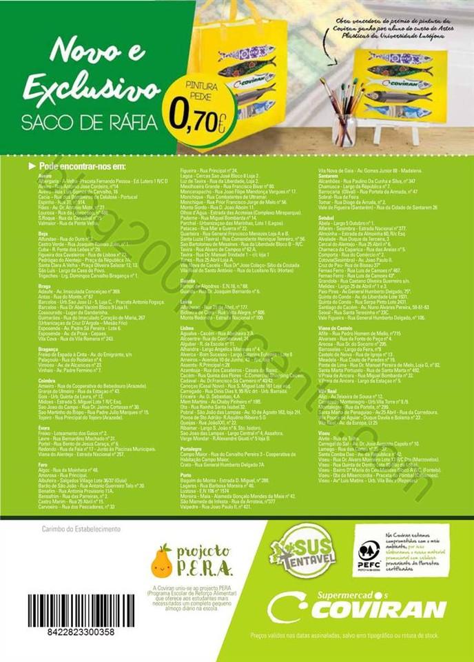 Antevisão Folheto COVIRAN promoções de 22 març