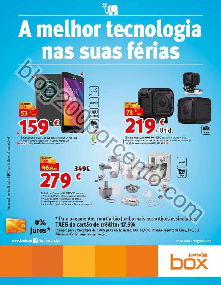 Antevisão Folheto JUMBO - BOX Promoções de 12 j
