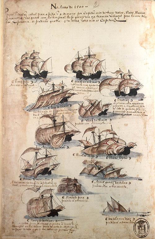 Armada de Cabral, 1500 (in Livro das Armadas)