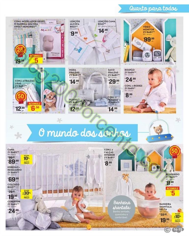 Antevisão Folheto CONTINENTE Feira Bebé de 12 a