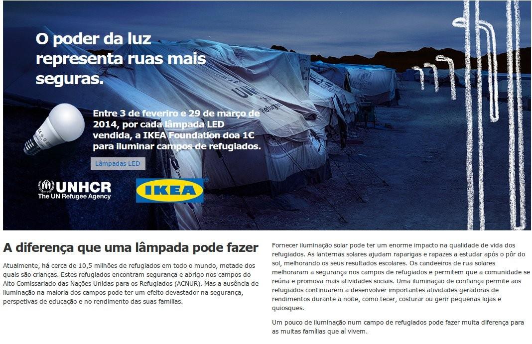 Campanha de solidariedade | IKEA | até 29 março