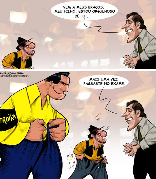 A troika e os salários baixos