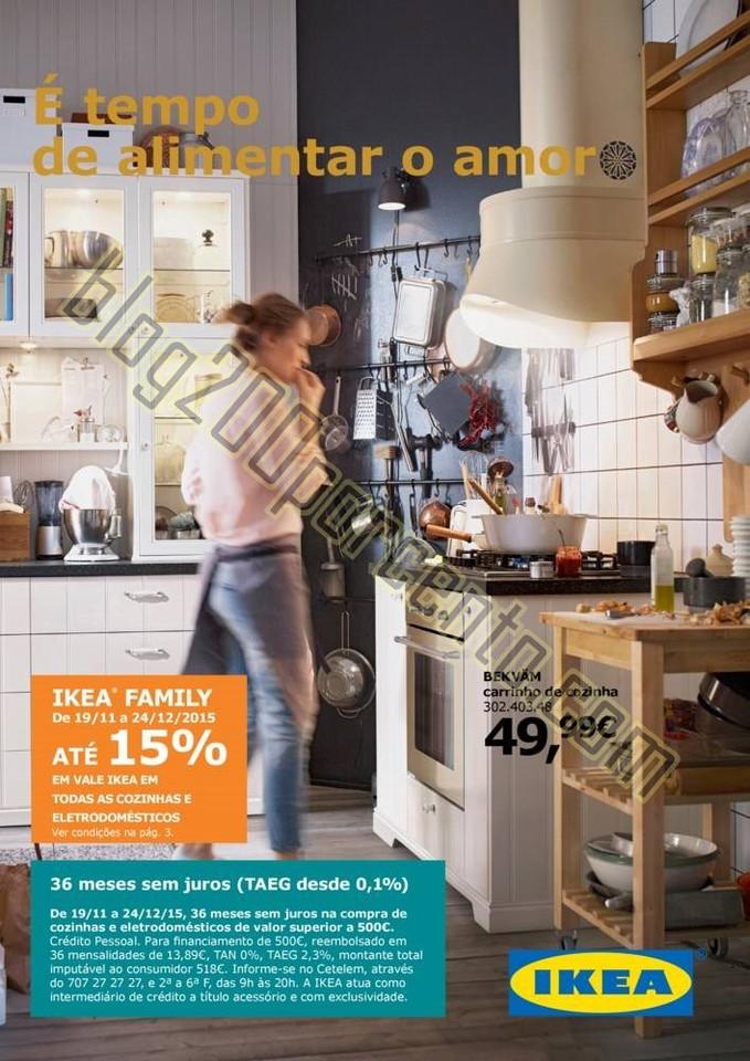 Antevisão Folheto IKEA Promoções de 19 novembro