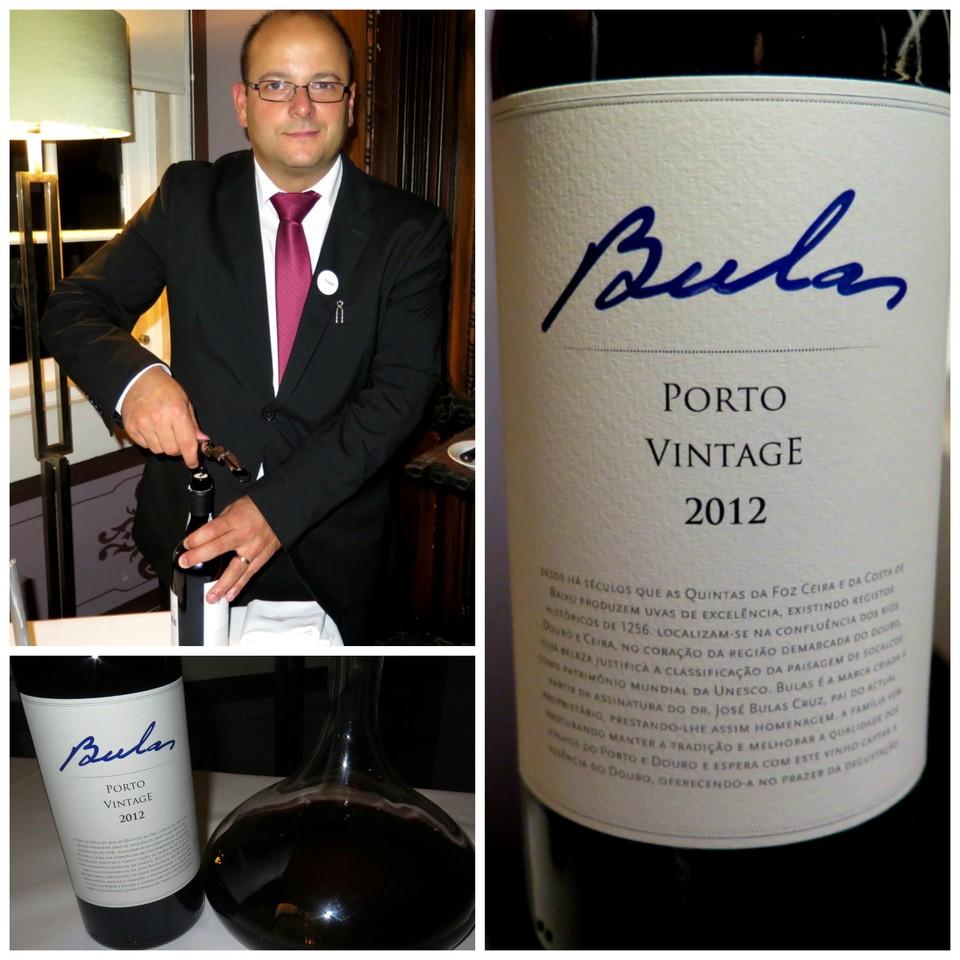 Escanção Tiago Silva e o Bulas Porto Vintage 2012