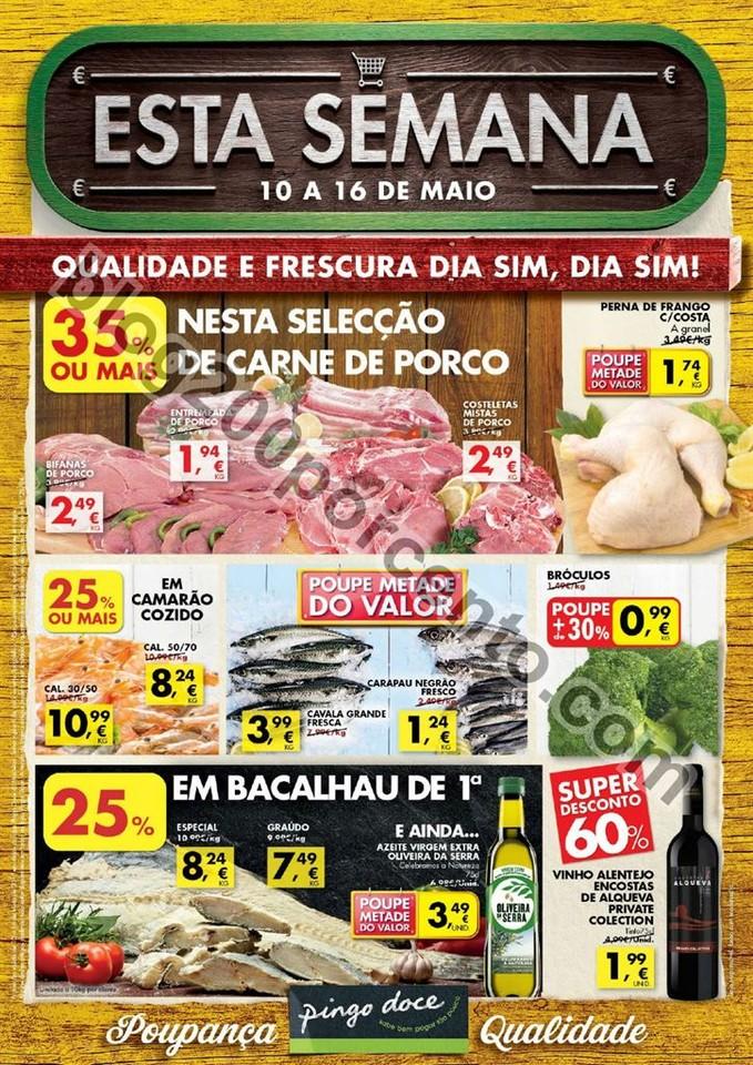 Antevisão Folheto PINGO DOCE Madeira de 10 a 16 m