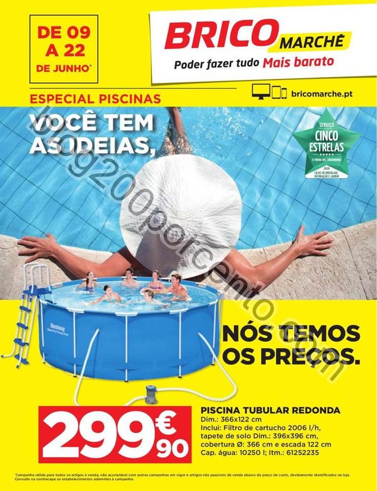 Antevisão Folheto BRICOMARCHÉ Promoções de 9 a