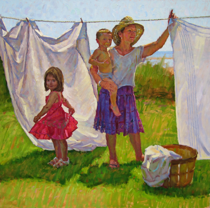 The Laundry Line by David Tanner 2.jpg