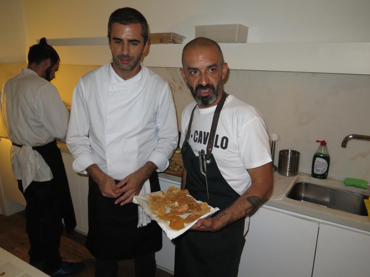 Tiago Feio e Hugo Brito