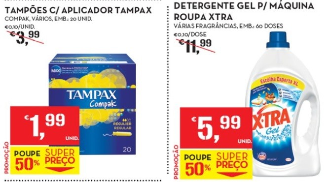 xtra tampax continente