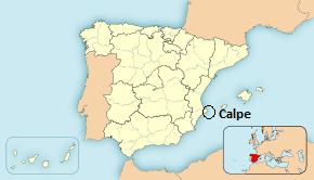 calpe mapa espanha Calpe Festival Village 2015 calpe mapa espanha