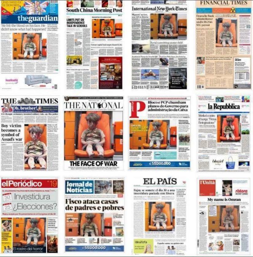 Basta ver as primeiras págs. dos principais jornais para se perceber como o 4.° poder actua (Skeptikos, in Dragoscopio, 20/8/16.)