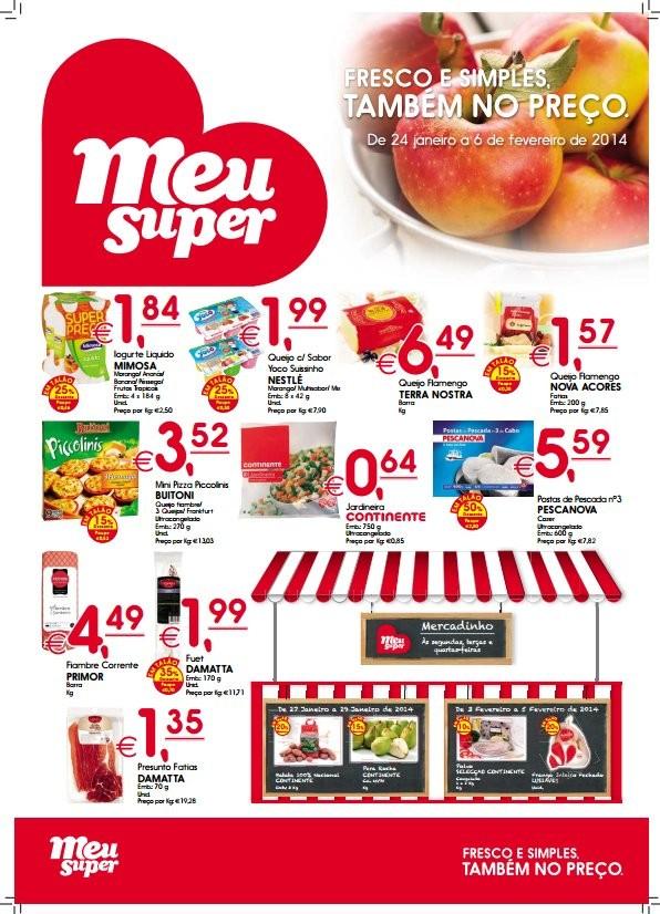 Novo folheto | MEU SUPER | de 24 janeiro a 6 fevereiro